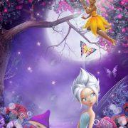 Девочка с феями коллаж