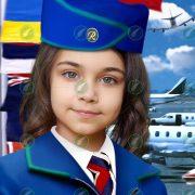 Юная стюардесса