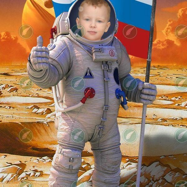 Юный астронавт