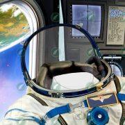 Юный космонавт коллаж