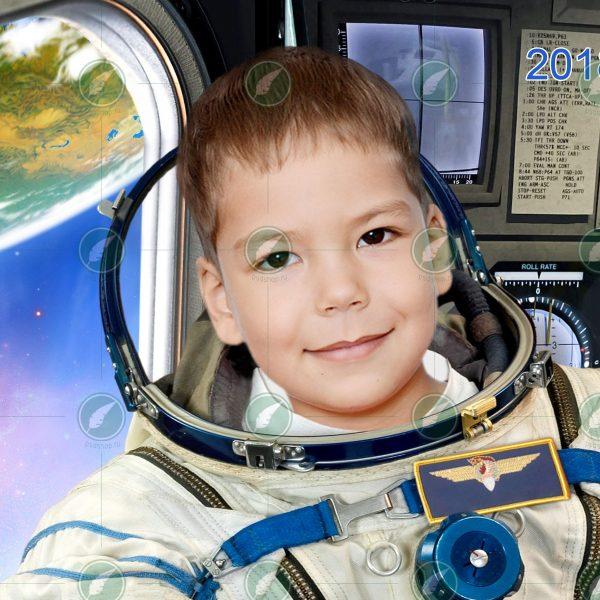 Юный космонавт
