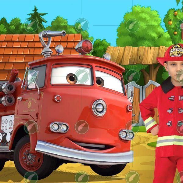Юный пожарный