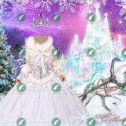 Костюм Снежной Королевы коллаж